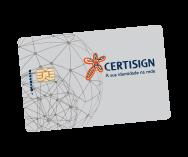 Cartão inteligente Certisign